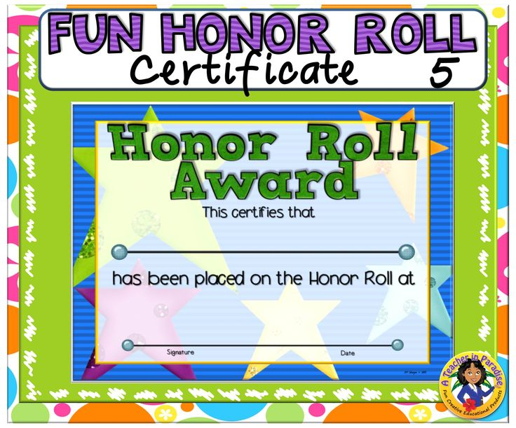 Spelling Of Honor: 17 Best Images About A Teacher In Paradise Certificates