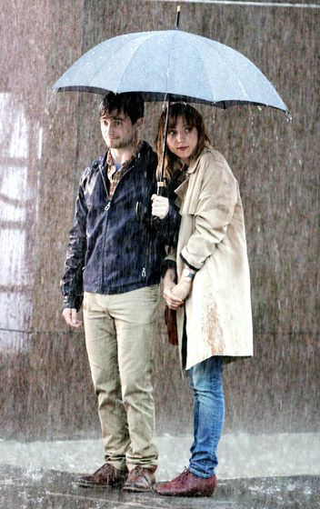 Slippery When Wet.  Daniel Radcliffe and Zoe Kazan.