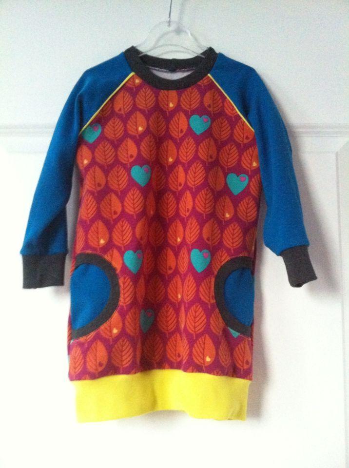 Raglan pocket dress: pattern by Brindille&Twig