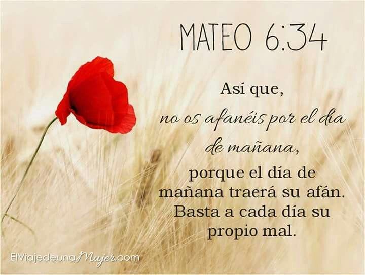Mateo 6:34