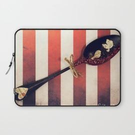 Nicolettazanella Store. Protect your laptop with a unique Society6 Laptop Sleeve.<br><br>Our form fitting, lightweight sleeves are created with high quality polyester - optimal for vibrant color absorption. The design is printed on both sides to fully showcase the artwork while keeping your gear...
