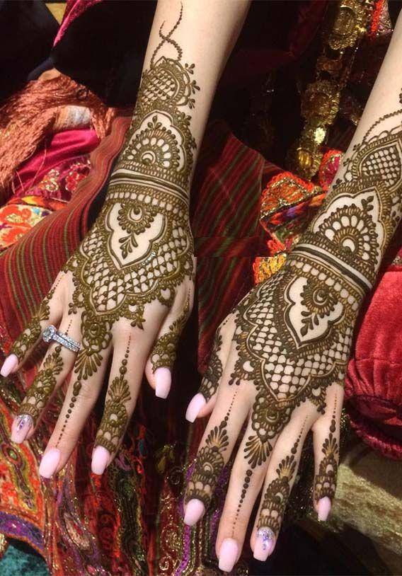 arabic wedding bridal mehndi design