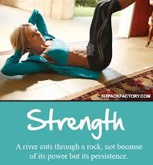 Your strength helps you let others find their own strength