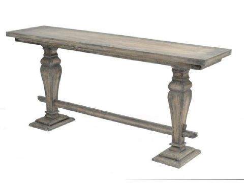 Amara Rustic Wooden Console Table