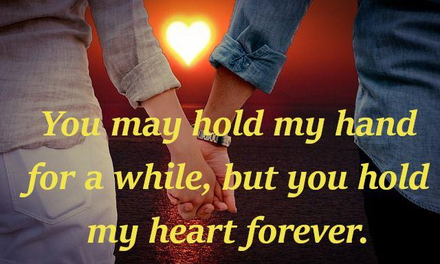 cuki szerelmes idézetek rövid szerelmes idézetek angolul, you may hold my hand   Hold my hand