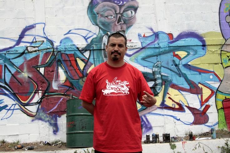 Faro Tlahuac El Faro Tlahuac abrió sus muros para hacer pintas con motivo de la segunda edición de Planeta Graff Planeta Rock, en honor al grabador José Guadalupe Posada.  Durante la realización de Planeta Graff hubo intercambio entre Chile y México.  Foto: Abril Cabrera A.