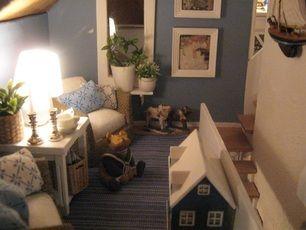Beautiful Miniatyrmama: Brookwood, Nice Dollhouse, All In Blue