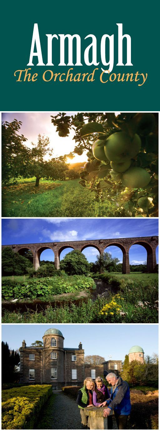Dappled with apple orchards, Armagh was once the ancient seat of St Patrick…
