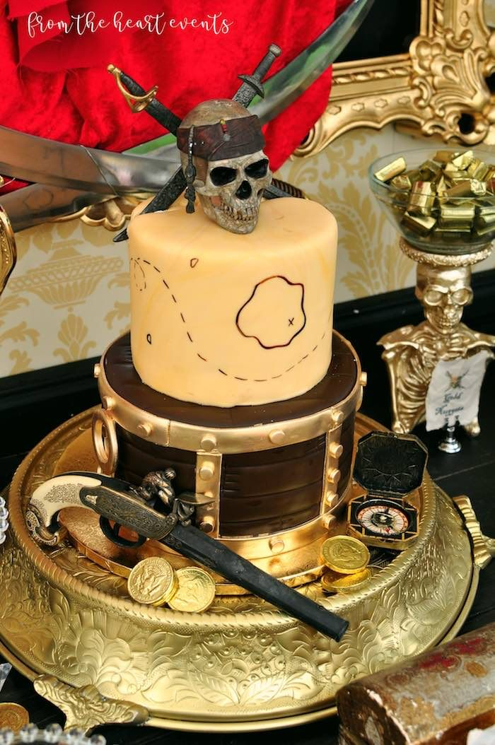 Swell Pirates Of The Caribbean Birthday Party With Images Pirate Funny Birthday Cards Online Aeocydamsfinfo