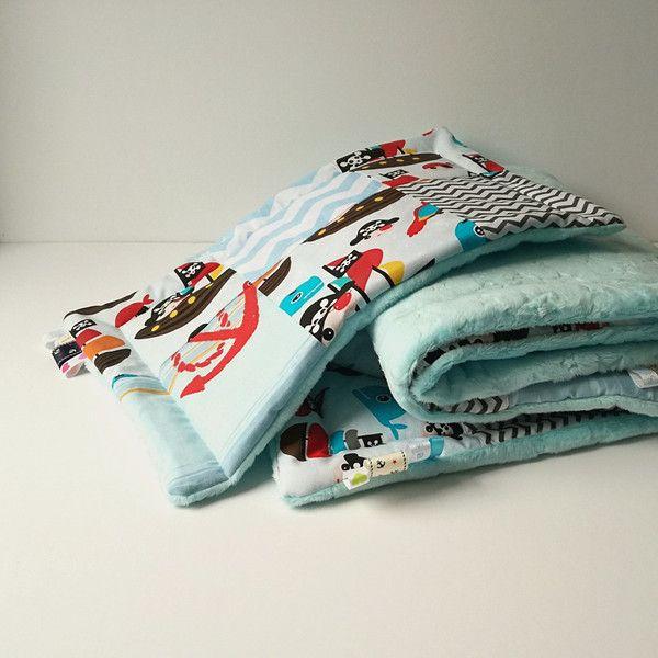 Komplet do spania - patchwork - DominiDom - Kocyki dla niemowląt