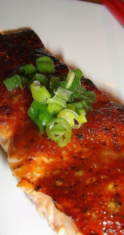 Orange Salmon - This is a very delicious way to cook salmon. Recipe is there too :)