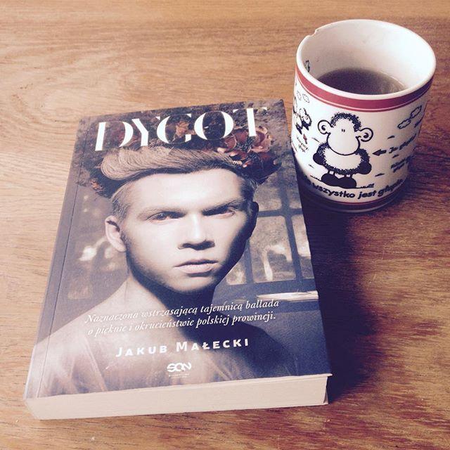 Słowa. Lubię słowa. #herbata #książka #książki #terazczytam #dygot #małecki #jakubmałecki #bookstagram #bookstagrampl