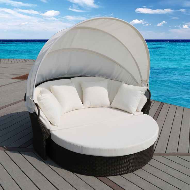 Stunning Enjoy the serenity of your outdoor space in this Cerbere outdoor day bed Modular pieces