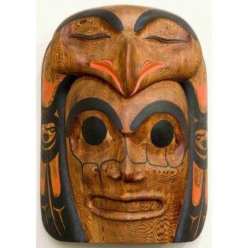 Eagle Chief Mask by Heber Reece (Tsimshian)
