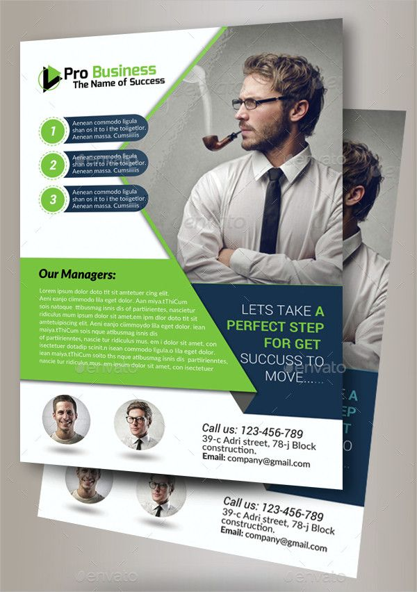 Business Training Flyer Template Free