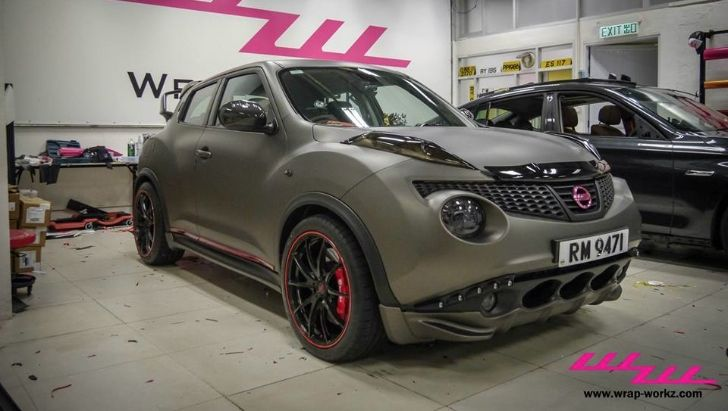Impul Nissan Juke Wrapped in Matte Charcoal Metallic [Video] [Photo Gallery]