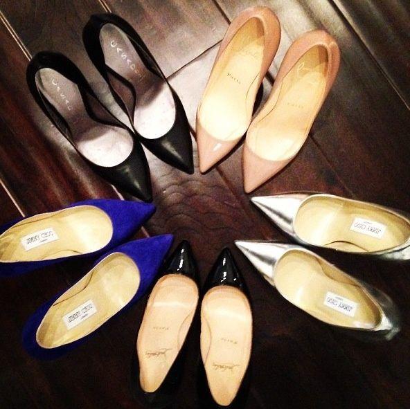 [SHOE LOVE] Pointy heels. #shoelove #heels