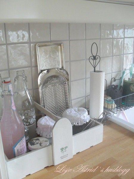 Интерьер в стиле шебби шик в отдельно взятой квартире. Кухня-столовая 31