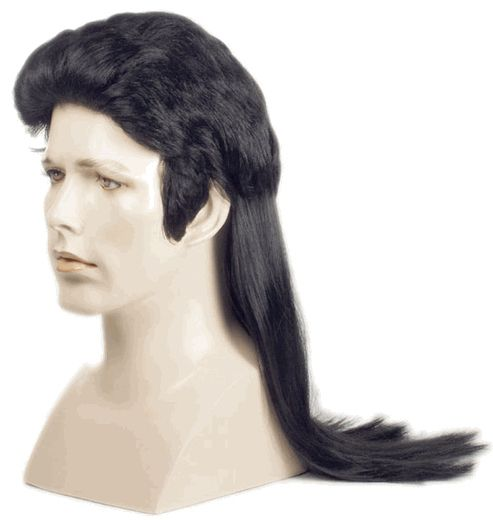 City Costume Wigs - Long, Elvis Mullet Wig, $27.00 (http://www.citycostumewigs.com/long-elvis-mullet-wig/)