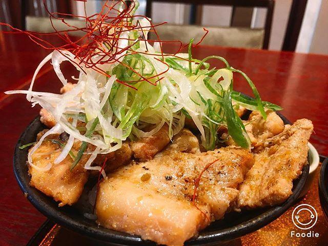 ここの豚丼ホンマに美味い( ゚д゚)ンマッ! かごしま黒豚の豚丼やからなー。 こりゃ肉好きの人にはたまらんわー。 #芋蔵#豚丼#生姜焼き丼#かごしま黒豚生姜焼き丼#黒豚#かごしま黒豚#グルメ#肉#肉肉肉#フードファイト#メシテロ#jiren#ASURASITEJIREN