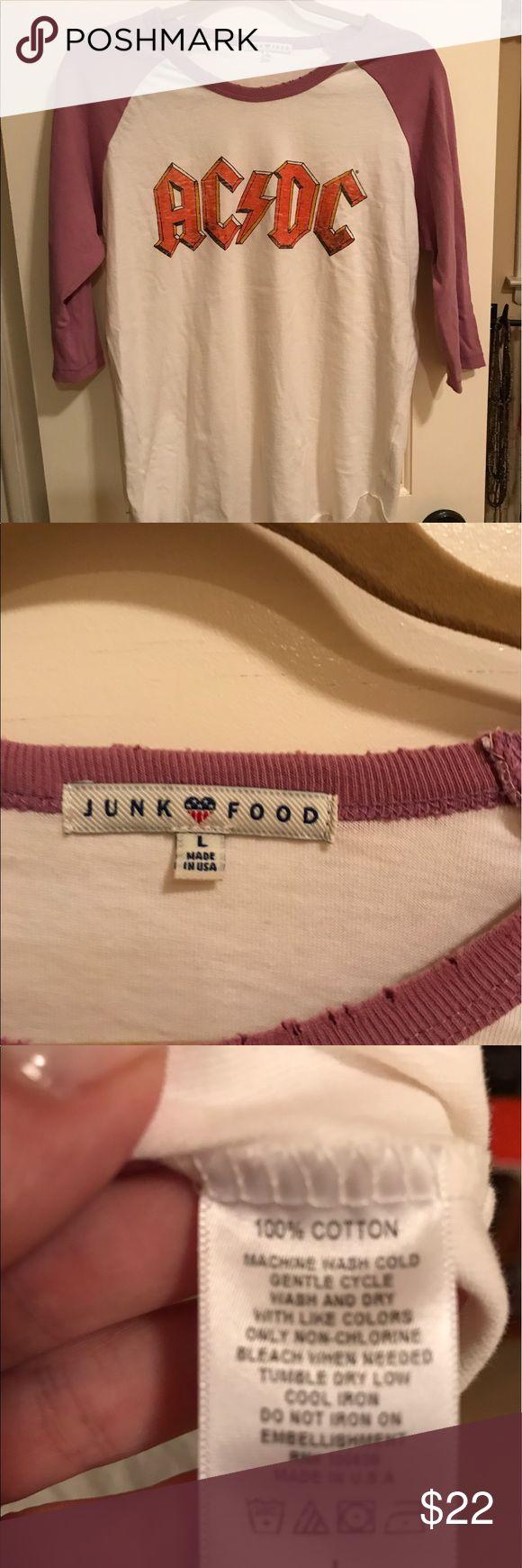 Junk food tee. NWOT Hi Junk Food Clothing Tops Tees - Long Sleeve