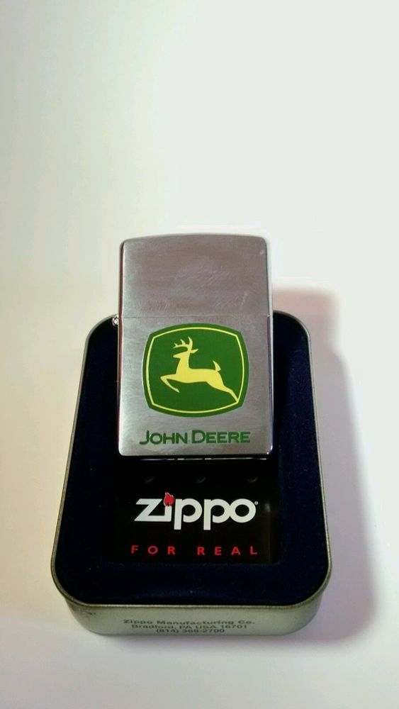 2006 ZIPPO USA John Deere Sealed Lighter with Case in Collectibles, Tobacciana, Lighters | eBay