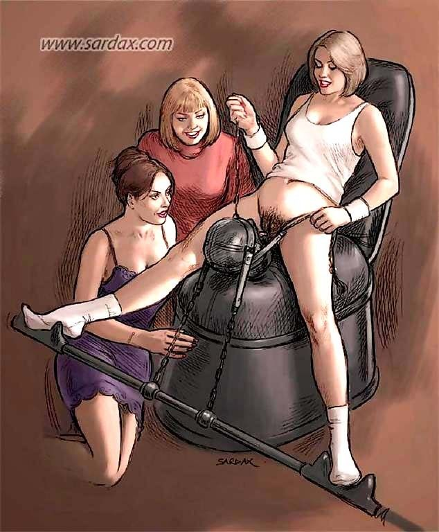 lesbian domination artwork