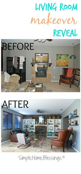 Diy Living Room Makeover Fair Design 2018