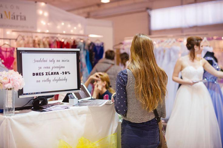Zľavy na svadobné šaty 20%