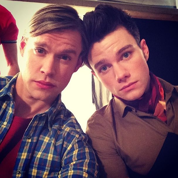 25 Awesome Behind-the-Scenes Pics From the 100th Episode of 'Glee'