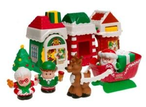 Little People: Christmas Village This is one toy that also makes a Great Christmas Decoration, that the kids can play with. http://awsomegadgetsandtoysforgirlsandboys.com/fisher-price-toys-12-24-months/ Little People: Christmas Village