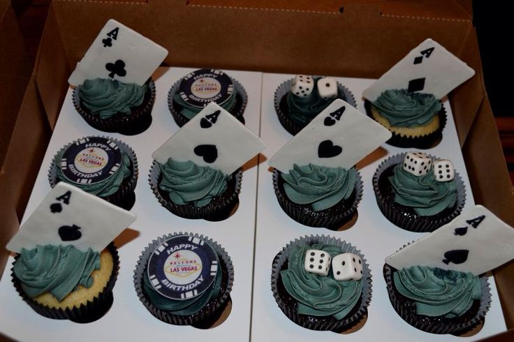 Vegas Cupcakes