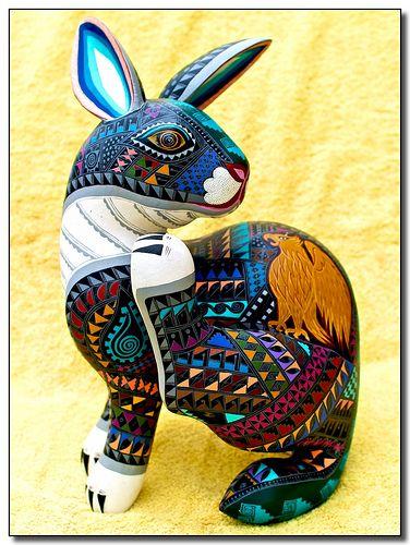Conejo - Rabbit, via Flickr.