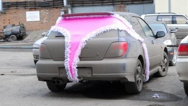 This is not what we mean when we talk about vehicle wraps. #vehiclewraps
