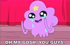 "27 GIFs That Prove Lumpy Space Princess From ""Adventure Time"" Is All Of Us"