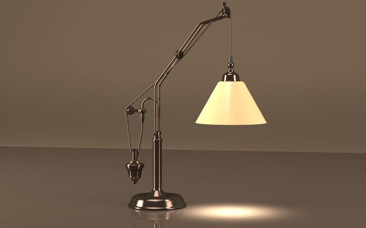 Counterweight Task Table Lamp