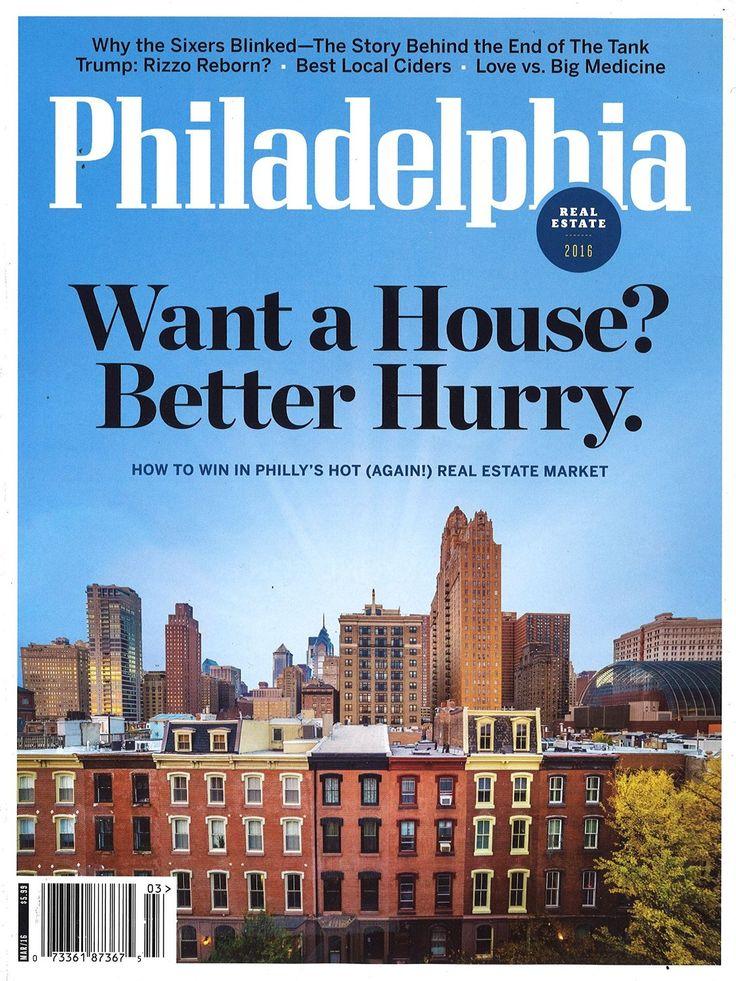 Philadelphia - Magazine, 12 issues / 12 months, Price: $9.95 - You Save: $49.93 (83%)