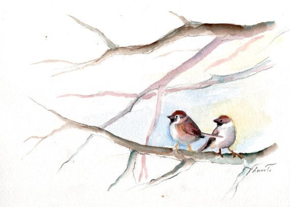 Sparrows by silaloba on Etsy, Ft4900.00