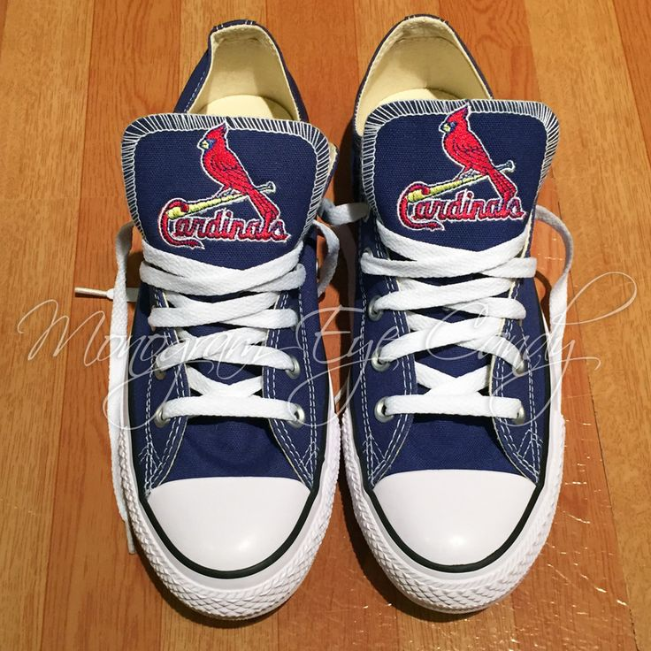 St Louis Cardinals Converse Shoes