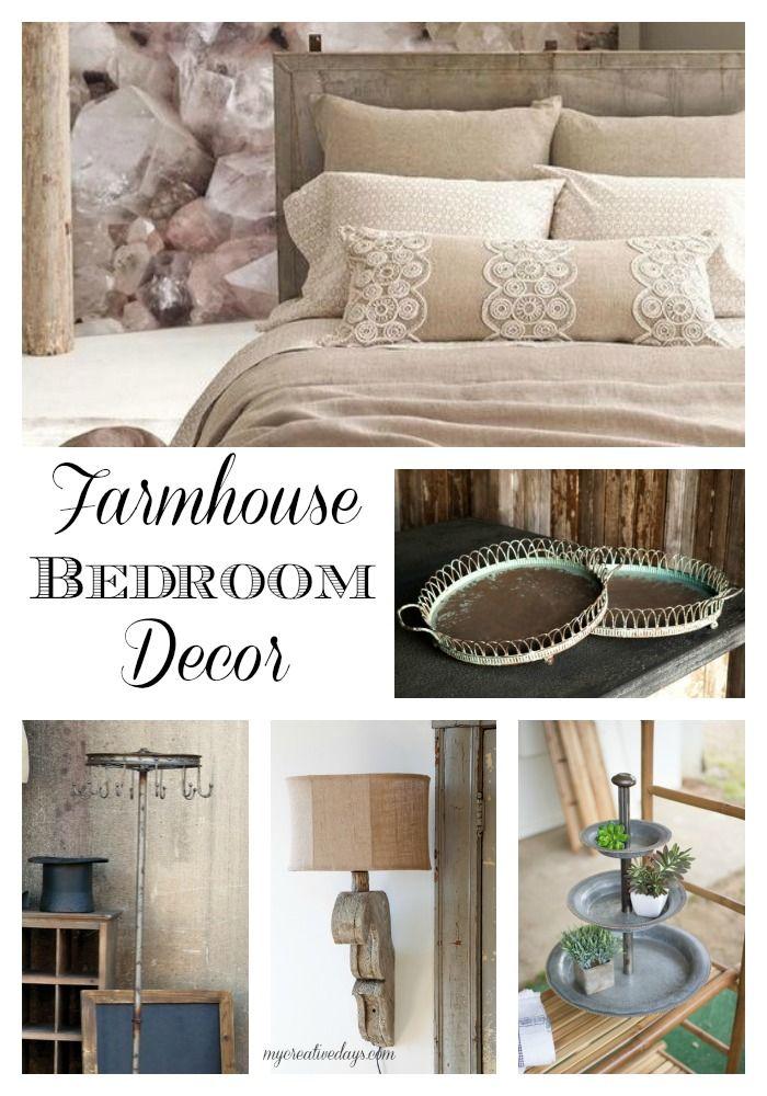 mycreativedays: Farmhouse Bedroom Decor