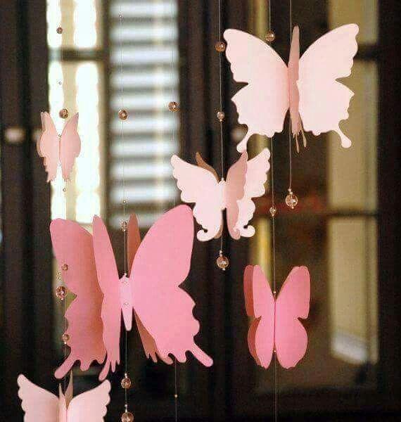 Ideas para decorar con manualidades hechas de papel