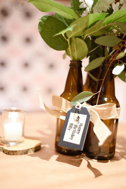40th Birthday Party Ideas For Him | Home with Keki / Interior Design Blogger