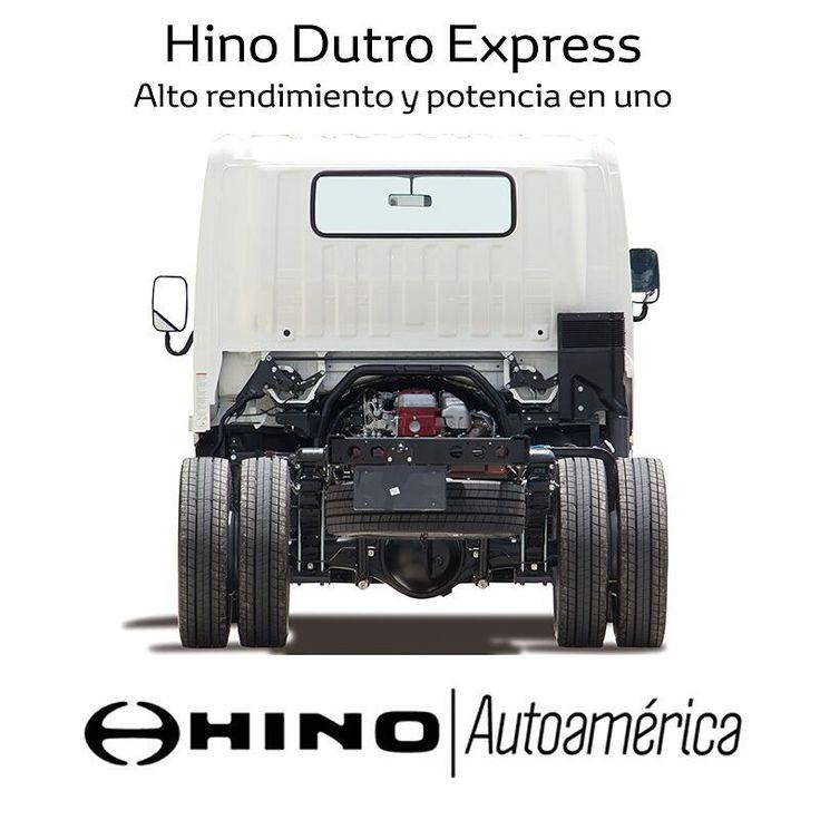 Las características tecnológicas del #HinoDutroExpress hacen que este camión tenga un alto rendimiento en el consumo de combustible, a la vez que es potente para cargar más de 4 toneladas. Conócelo mejor en #Autoamérica https://goo.gl/g2VuAT