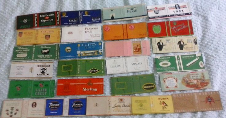 Vintage Cigarette Packet Collection - Lot 3 | eBay