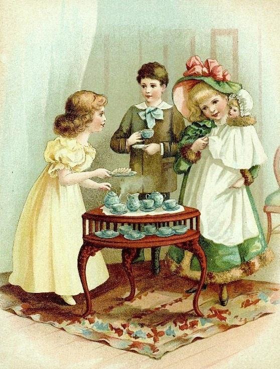 tea party time - photo #11