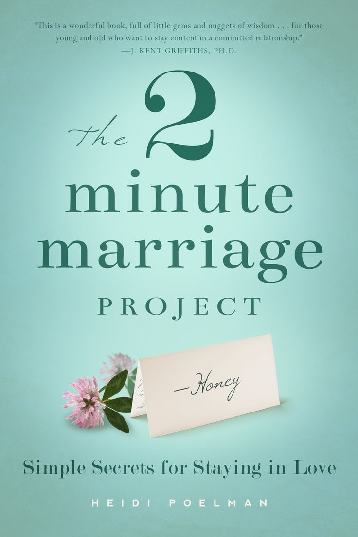 The Two-Minute Marriage Project: Simple Secrets for Staying in Love. A book review.