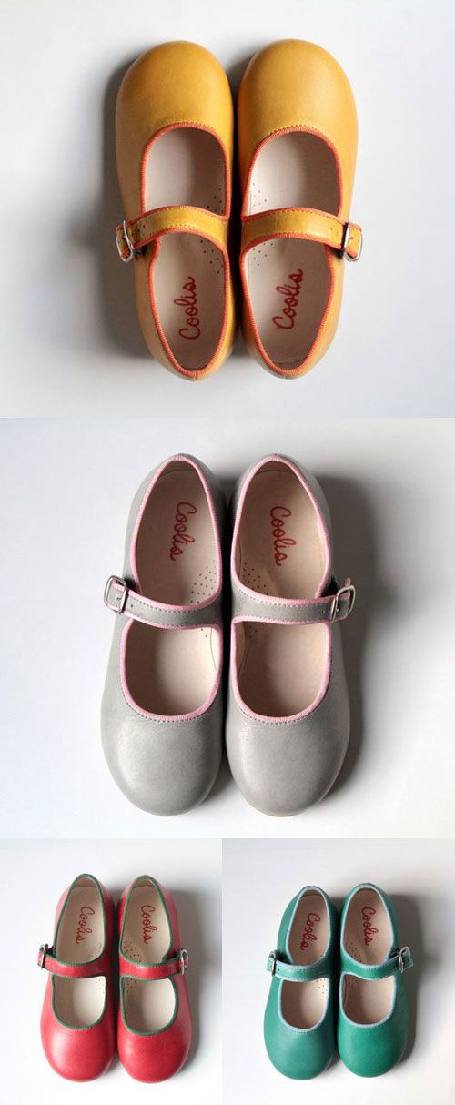 I discovered these gorgeous kids Mary Jane shoes and it was love at first sight! They are made by the portuguese brand Coolis – and are really beautifull, colorful, soft and very well made.