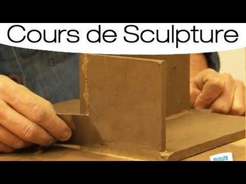 Réaliser une ouvrage avec des plaques d'argile - YouTube