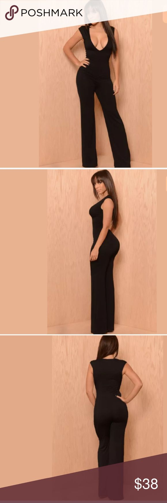 The Carrie Underwood sexy jumper sexy, black, one size, jumpsuit; this is a polyester spandex blend so it should fit most people size small and medium Pants Jumpsuits & Rompers