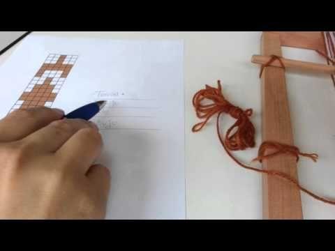 Ojo de guanaco, TELAR ABORIGEN Parte 2 - YouTube